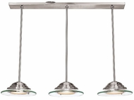 Access 50443-BS Vision Martini Multi-Pendant Light in Brushed Steel