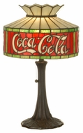 Meyda Tiffany 74066 Coca Cola Accent Lamp
