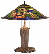 Meyda Tiffany 32300 Pond Lily 24 inches wide Tiffany Table Lamp