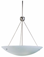 Kichler 2754 Contemporary Nickel Finish Inverted Pendant 26 Inch Diameter Light Fixture