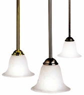 Kichler 2771 Dover 11 Inch Diameter Rod Hanging Mini Pendant Light Fixture