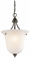 Kichler 42882OZ Nicholson Foyer Light Fixture in Olde Bronze