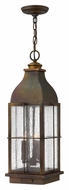Hinkley 2042SN Bingham Sienna Finish Outdoor Hanging Lantern Pendant - 23 Inches Tall