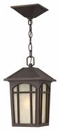 Hinkley 1982OZ-LED Cedar Hill Outdoor 13 Inch Tall Oil Rubbed Bronze Finish 13 Inch Hanging Light Fixture - LED
