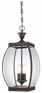 Quoizel OAS1909Z Oasis Traditional Outdoor Bronze Hanging Candelabra Lantern Pendant Light