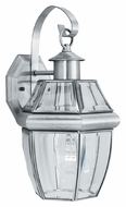 Thomas SL942478 Heritage Medium Traditional Brushed Nickel 15 Inch Tall Exterior Lighting Sconce