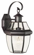 Thomas SL942463 Heritage Medium 15 Inch Tall Painted Bronze Finish Traditional Outdoor Wall Lighting
