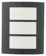 EGLO 83217A City 10 Inch Tall Antracite Finish Exterior Sconce - Fluorescent