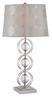 Lite Source LS21109 Cosimo Contemporary Three-Ring Table Lamp