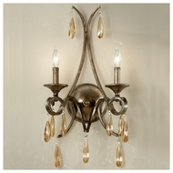 Feiss for Less WB1563GIS Reina 2-light Traditional Style Wall Sconce