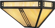Arroyo Craftsman PS-15 Prairie Craftsman Wall Sconce - 15 inches wide