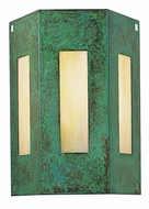 Arroyo Craftsman FS-3/3 Franklin Craftsman Wall Sconce - 7.75 inches wide