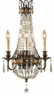 Feiss WB1445OBZ-BRB Bellini Three Lamp Wall Sconce