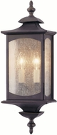 Feiss OL2601-ORB Market Square 2-light 19 inch Exterior Wall Light in Oil Rubbed Bronze
