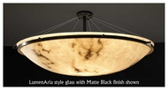 Justice Design 9687 Ring 48  Round Contemporary Semi-Flush Ceiling Light