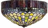 Meyda Tiffany 27444 Candice Tiffany Flush-mount Ceiling Light