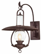 Troy BCD9011OBZ La Grange Traditional Outdoor Wall Lantern - 16 inches wide