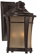 Quoizel HY8411IB Harmony 17.5 inches tall outdoor lighting wall fixture in imperial bronze
