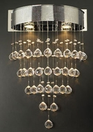 PLC 81730-PC Beverly Crystal Sconce