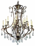 Trans Globe 3965 Crystal Fair 15-light Traditional Chandelier