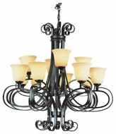 Trans Globe 9912 New Century I 12-light Contemporary Chandelier
