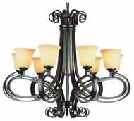 Trans Globe 9919 New Century I 9-light Modern Chandelier Light