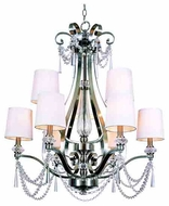 Trans Globe 7879 Young and Hip Corner I 9-light Modern Chandelier