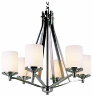Trans Globe 7926 Young and Hip Corner II 6-light Modern Chandelier