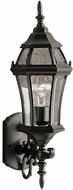 Kichler 9790TZ Townhouse 21.5 Inch Fluorescent Exterior Wall Sconce Lantern