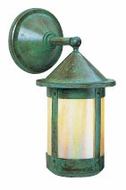Arroyo Craftsman BB-7W Berkeley Craftsman Outdoor Wall Sconce - 14.75 inches tall