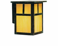 Arroyo Craftsman MW-6 Mission Craftsman Outdoor Wall Sconce - 7.25 inches tall