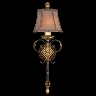 Fine Art Lamps 234450 Castile Tall Classic Wrought Iron Sconce Light Fixture