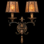 Fine Art Lamps 406950 Epicurean Traditional 2-lamp Wall Sconce Lighting