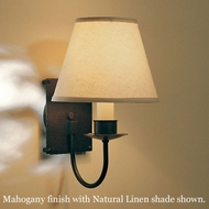 Hubbardton Forge 20-3101 Traditional Shaded Square-Back Wall Sconce