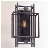 Troy B2491FI Crosby 1-light Wrought Iron Wall Sconce