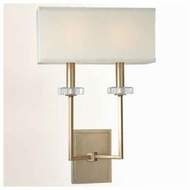 Troy B2442SL Sconces 2-light Rectilinear Contemporary Style Wall Sconce