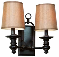 Trans Globe 9622 Modern Meets Traditional II 2-light Wall Sconce