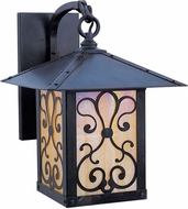 Arroyo Craftsman TRB-16AS Timber Ridge 16 inch Outdoor Wall Sconce with Ashbury Filigree