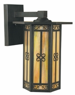 Arroyo Craftsman LIB-11 Lily Craftsman Outdoor Wall Sconce - 11 inches wide