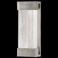 Fine Art Lamps 810950-33 Crystal Bakehouse Medium 18 Inch Tall Silver Leaf Crystal Spire Light Sconce