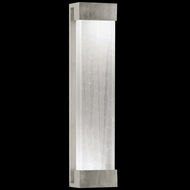 Fine Art Lamps 811150-33 Crystal Bakehouse Silver Leaf Extra Large 30 Inch Tall Lamp Sconce - Crystal Spire