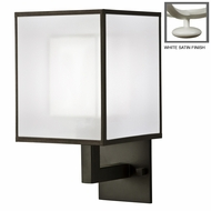 Fine Art Lamps 331150 Black & White Story Modern 14 Inch Tall Wall Lighting Sconce