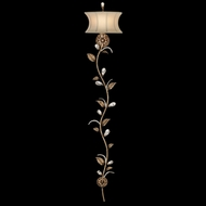 Fine Art Lamps 427150 A Midsummer Night's Dream Extra Tall Crystal Strand Wall Lamp