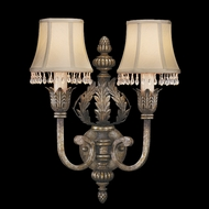Fine Art Lamps 213350 A Midsummer Night's Dream 2-light Classic Wall Sconce with Crystal-trimmed Shades