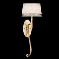 Fine Art Lamps 784650-2 Allegretto Gold 1-light Contemporary Sconce Lighting