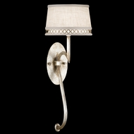 Fine Art Lamps 784650 Allegretto Silver 1-light Contemporary Sconce Lighting