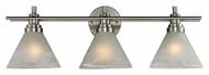 ELK 11402/3 Pemberton Brushed Nickel 26 Inch Wide Vanity Lighting For Bathroom
