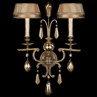 Fine Art Lamps 754550 Golden Aura 2-lamp Traditional Sconce Lighting