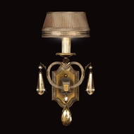 Fine Art Lamps 755550 Golden Aura 1-light Crystal Traditional Sconce