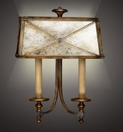 Fine Art Lamps 563250 Newport Traditional Sconce with Mirror Panel Shade